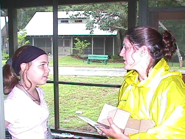 Jillianne and Colleen at BCGC 6-00