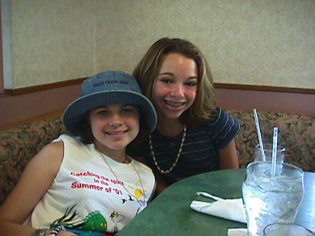 Jillianne and BCGC best friend, Blair 7-01