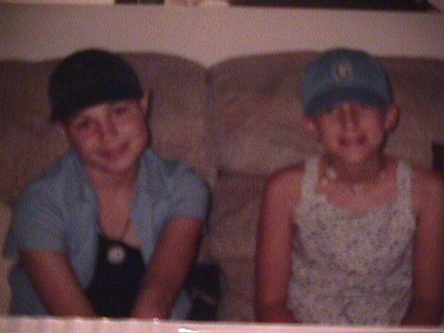 Jillianne and best friend Courtney