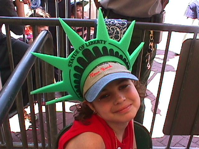 Jillianne in New York City July 2001 for her Make A Wish Trip!!!
