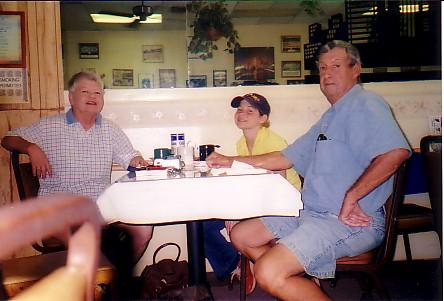 Grandma, Jillianne, and Granddaddy